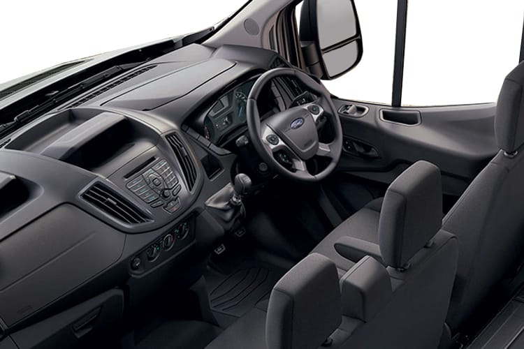 Ford Transit 350 L3 RWD 2.0 EcoBlue RWD 170PS Leader Premium Dropside Double Cab Manual [Start Stop] inside view