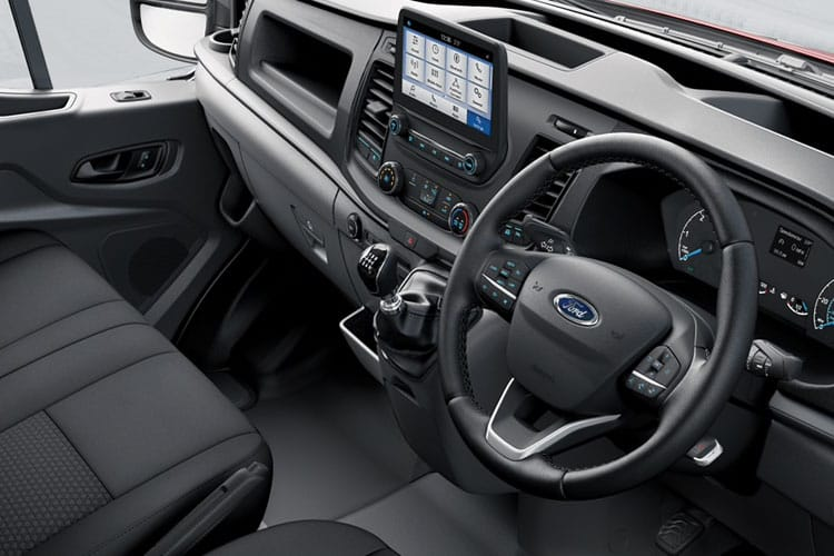 Ford Transit 350 L2 RWD 2.0 EcoBlue RWD 130PS Trend Crew Van High Roof Manual [Start Stop] [DCiV] inside view